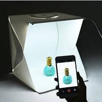 Лайтбокс с LED подсветкой,23cм и 4 фона