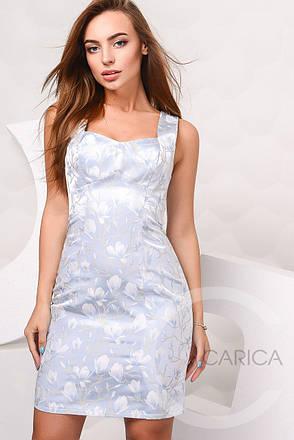 Платье KP-10017, (Голубой), фото 2