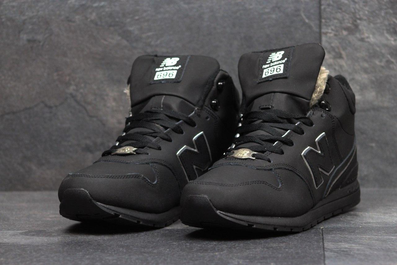 Я в шоке!™   Мужские зимние кроссовки New Balance 696 Revlite черные ... 382e3586093
