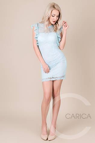 Платье KP-10024, (Голубой), фото 2