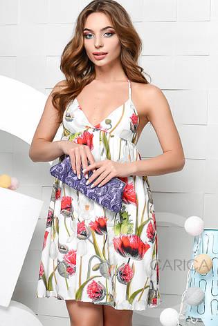 Платье KP-10035-3, (Белый), фото 2