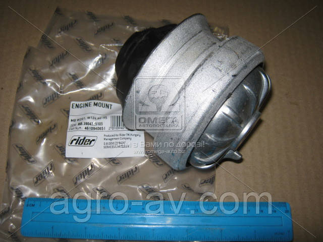 Опора двигателя (RD.3904325105) MB W201, W124 82-95 (RIDER)