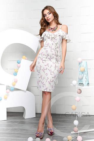 Платье KP-10036-4, (Серый), фото 2