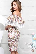 Платье KP-10037-3, (Молоко), фото 2