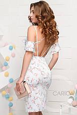 Платье KP-10036-11, (Голубой), фото 3
