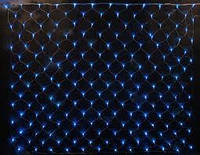 Новогодняя гирлянда сетка 240LED синий