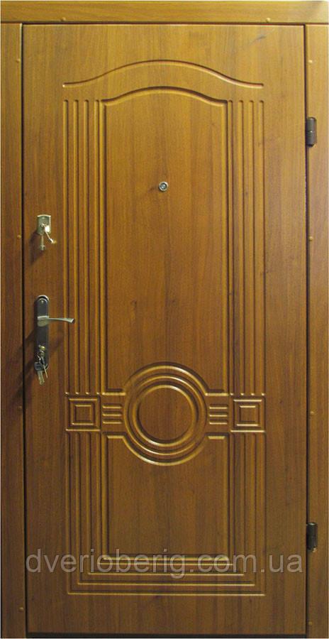 УЦЕНКА Входная дверь модель Т1-2 68 светлый орех