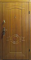 Входная дверь модель Т1-2 68 светлый орех