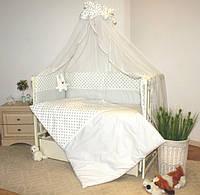 """Детское постельное белье в кроватку GreTa Lux - """"Кролик"""" 7эл., фото 1"""