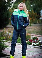 Теплющий зимний спортивный костюм  на синтепоне и на меху внутри