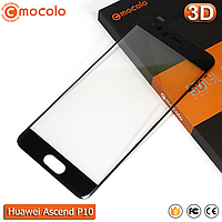 Защитное стекло Mocolo Huawei P10 (Black) 3D, фото 1