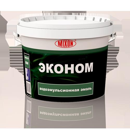 Водоэмульсионная эмаль Mixon Эконом. 3 л