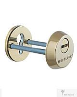 Протектор MUL-T-LOCK SL3 DIN ROUND латунь полированная