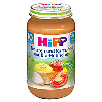 Детское пюре HiPP Цыпленок-помидоры-картофель от 10 месяцев 220 г