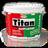 Акриловая краска для стен и потолка Mixon Titan Mattlateks. 10 л
