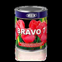 Матовая краска для стен и потолков Mixon Bravo. 1 л