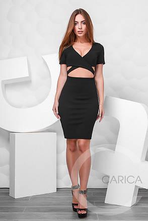 Платье коктейльное , (Черный), фото 2