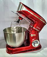 Кухонный комбайн-тестомес Royalty Line PKM-1900 Red 6,5 л