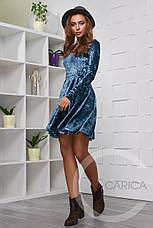Велюровое платье, фото 3