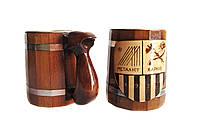 Кружка из дерева, для кухни, для бани и сауны, фото 1