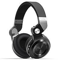 Bluedio T2+ беспроводные Bluetooth наушники гарнитура MicroSD FM черные