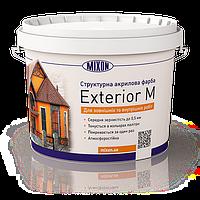 Структурная фасадная краска Mixon Exterior-M. 10 л