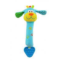 Плюшевая игрушка Baby Mix STK-12600D Собачка для руки