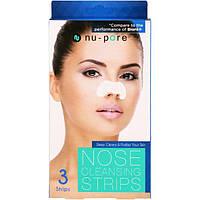 Nu-Pore, Полоски для чистки носа, 3 полоски