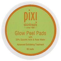 Pixi Beauty, Glow Peel Pads, современный уход и отшелушивание, 60 мягких дисков