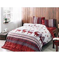Фланелевое постельное белье евро размера Тас Snow White SvD