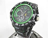 Часы Casio G-SHOCK GPW-2000 Gravity Master F1 Edition black/green
