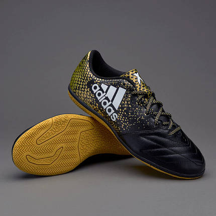 83aad56b161b96 Футзалки Adidas X 16.3 IN LEATHER BB4196 (Оригинал) Акция - купить в ...