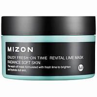 Mizon, Наслаждайтесь свежестью вовремя, маска с восстанавливающим лаймом, 3,38 жидкие унции (100 мл)