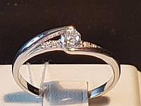 Серебряное кольцо с фианитами. Артикул 15059р 18, фото 1