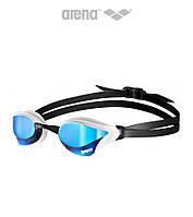 Зеркальные очки для плавания премиум класса Arena Cobra Core Mirror (Blue/White), фото 1