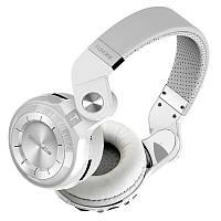 Bluedio T2+ беспроводные Bluetooth наушники гарнитура MicroSD FM белые