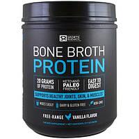 Sports Research, Протеин костного бульона, ваниль, 32 унции (907 г)