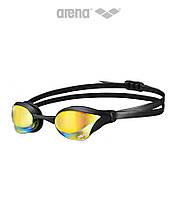 Зеркальные очки для плавания премиум класса Arena Cobra Core Mirror (Yellow Revo/Black)