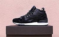 Кроссовки Reebok GL 6000 black. Топ качество. Живое фото! (рибок, рибок классик)