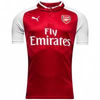 Футбольная форма 2017-2018 Арсенал (Arsenal), домашняя, красная, x2