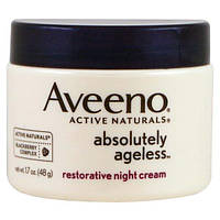 Aveeno, Absolutely Ageless, восстанавливающий ночной крем, 1,7 унции (48 г)