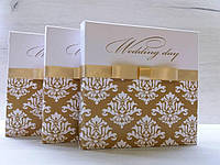 Картонная коробка-бокс для свадебного диска