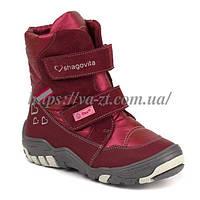 Зимние высокие термо-ботинки на девочку рр 27,28,29,30,31