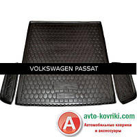 Avto-Gumm Коврик от Auto Gumm в багажник  для Volkswagen Passat B8 2015 Universal