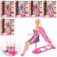 Шарнирная кукла 66449 с краской для волос и аксессуарами