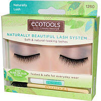 EcoTools, Naturally Beautiful Lash System, Набор ресниц 1 пара of Lashes