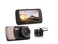 Видеорегистратор Т625B 2 камеры Novatek 96655 HDR. Lcd 4.5