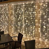 "Гирлянда Водопад 2.5м х 2.5м, 480 LED, Соединяемая (""Штора"", ""Занавес"", ""Curtain lights"")"