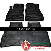 Avto-Gumm Резиновые автомобильные коврики для Nissan Sentra (2015-)  от Auto Gumm в салон