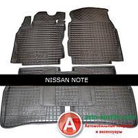 Avto-Gumm Модельный набор ковриков в салон для Nissan Note от Auto Gumm